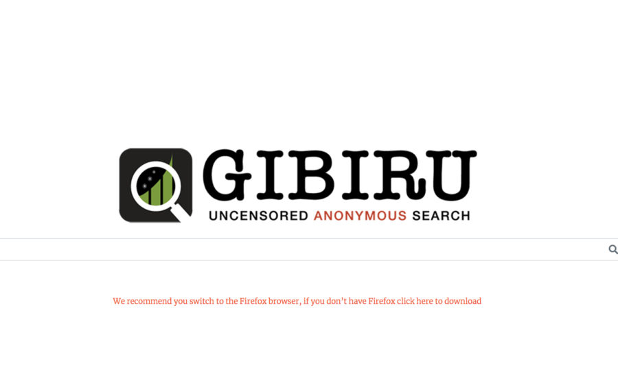 Uncensored Search Engine Gibiru